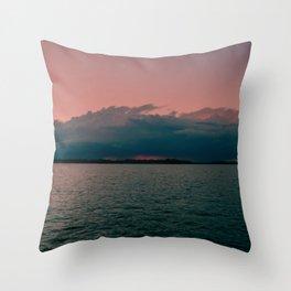 Sorbet Sunset Throw Pillow