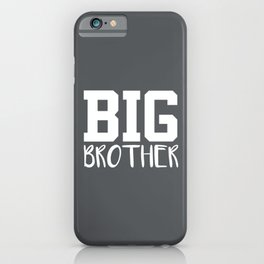 Big Brother, Pregnancy Reveal iPhone Case