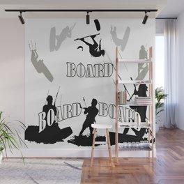 Board Board Board Kitesurfer Wall Mural