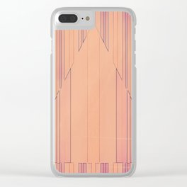 Strip to Stripe Me Down Clear iPhone Case