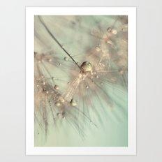 dandelion mint Art Print