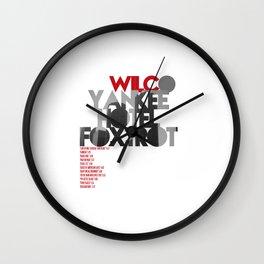 Yankee Hotel Foxtrot - Wilco / Album Cover Art LP Poster (Paper or Plexiglas) Wall Clock