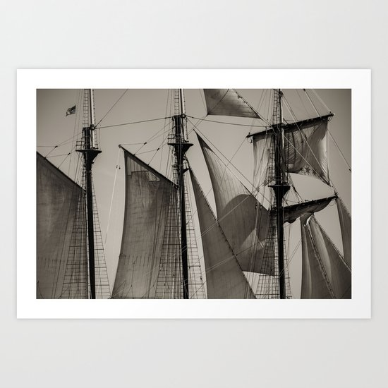 Wind in Your Sails Art Print