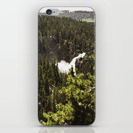 yellowstone falls . ii iPhone Skin