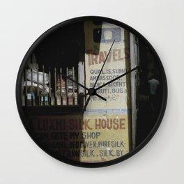 Sign of Varanasi Wall Clock