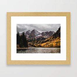 Maroon Bells, Aspen, Colorado Framed Art Print