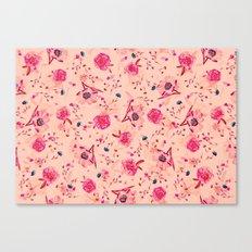 Vintage Flowers XLI Canvas Print