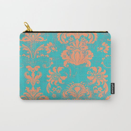 coral breeze Carry-All Pouch