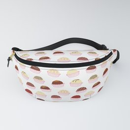 Colorful chocolate truffles Fanny Pack