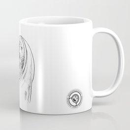 le bébé moustachu - 5 Coffee Mug