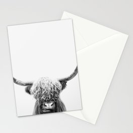 Scottish Highland Cow Stationery Cards