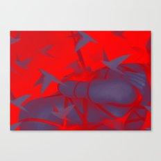 Silver Mountain No.1 Canvas Print