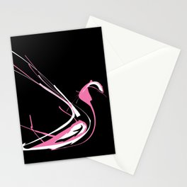 Pink Swan Stationery Cards
