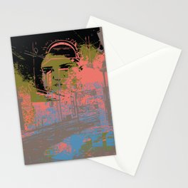 As I walk through the valley of the shadow of death Stationery Cards