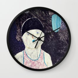 swimmer #1 Wall Clock