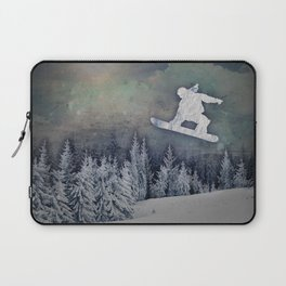 The Snowboarder Laptop Sleeve
