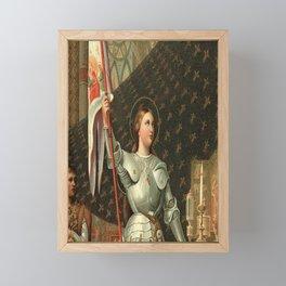 Joan of Arc Framed Mini Art Print