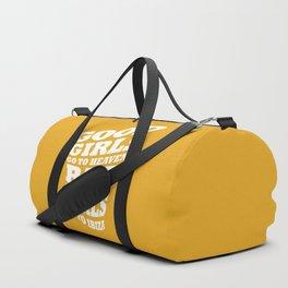 Good girls go to heaven bad girls go to Ibiza Duffle Bag