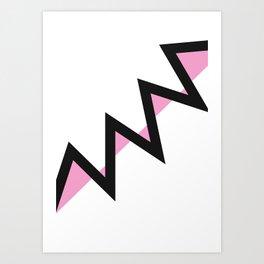Geometric Calendar - Day 17 Art Print