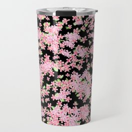 Cherry Blossom Digital Painting 2.0 Travel Mug