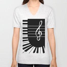 Piano Keys I Unisex V-Neck