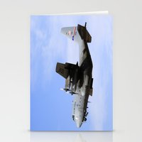 aviation Stationery Cards featuring USAF C-130 Aviation take off by Aviator