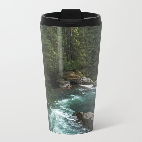 The Lost River - Pacific Northwest Metal Travel Mug
