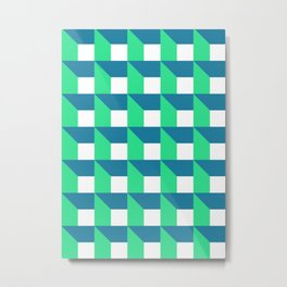 Modern Geometric 52 Metal Print