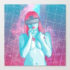 Retrofuturism Canvas Print
