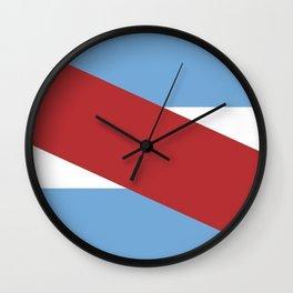 Flag of Entre rios Wall Clock