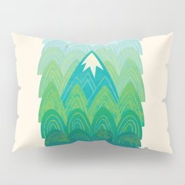 Towering Mountain Pillow Sham