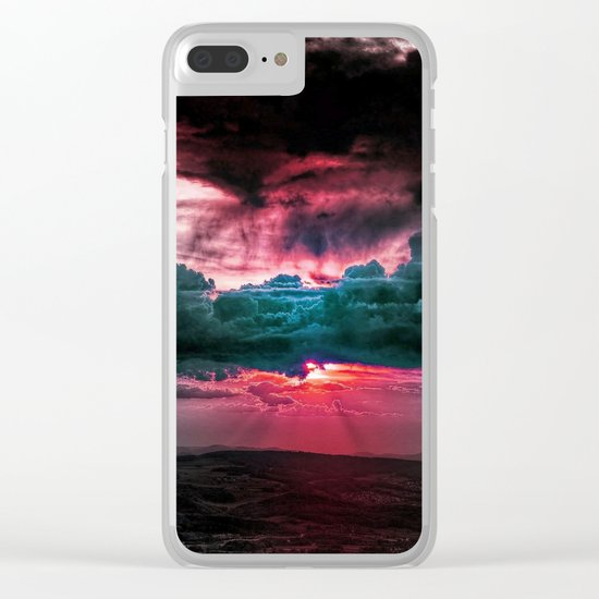 Marvelous earth Clear iPhone Case