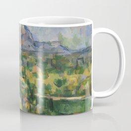 """Paul Cezanne """"Montagne Sainte-Victoire.Vue des Lauves"""" Coffee Mug"""