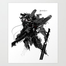 The Jackal Art Print