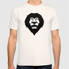 Lion King Natural Mens Fitted Tee MEDIUM