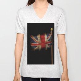 3D Union Jack Unisex V-Neck