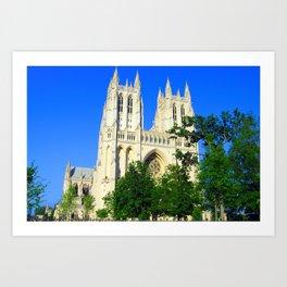 Washington National Cathedral Art Print