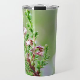 Heather flower Travel Mug