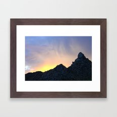 Arizona Sunset Framed Art Print