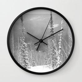 Winter 9 Wall Clock