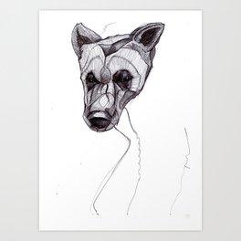 Bear Cub Art Print