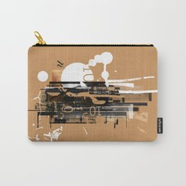 """""""Four Tet"""" Graphic Art Print Carry-All Pouch"""