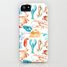 Spring Yeah! - Lobster&Crabs iPhone Case