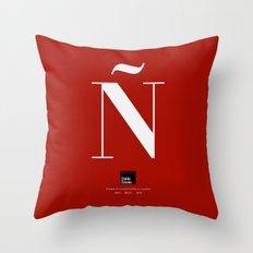 Ñ (Piece 03/08) Throw Pillow