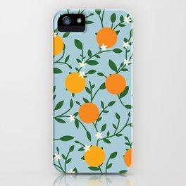 Valencia Oranges iPhone Case