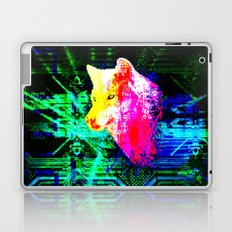 digital wolf Laptop & iPad Skin