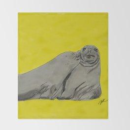 Seal the Kiss Throw Blanket