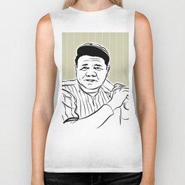Face Babe Ruth Biker Tank