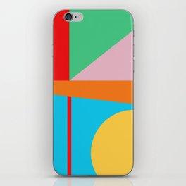 Circle Series - Summer Palette No. 5 iPhone Skin
