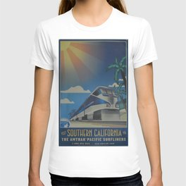 Vintage poster - Southern California T-shirt